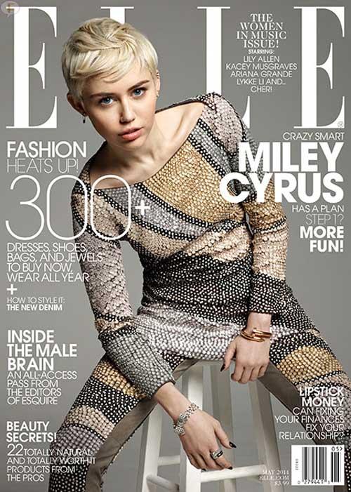 Miley Cyrus: Libre de Disney y de Liam [Elle]