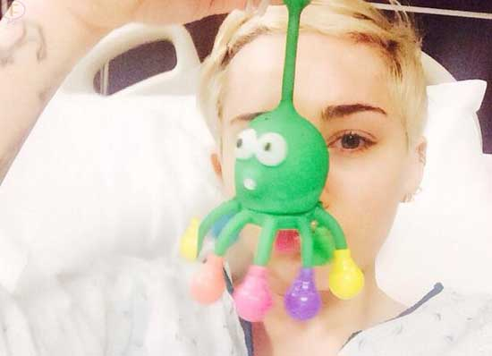 Miley Cyrus hospitalizada! Alergia a Antibióticos!