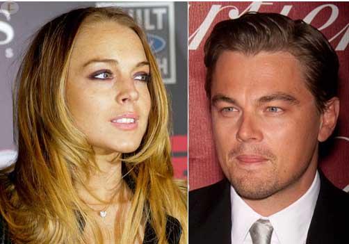 Leo DiCaprio no es fan de Lindsay Lohan