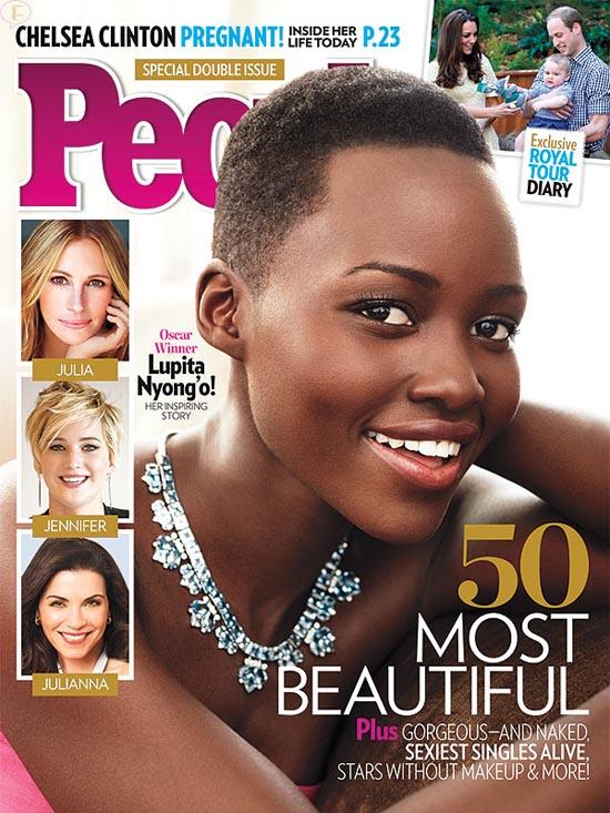Lupita Nyong'o La Mujer más Hermosa - People