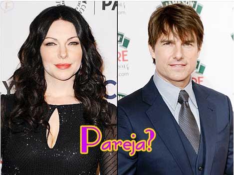 Tom Cruise y Laura Prepon saliendo secretamente?