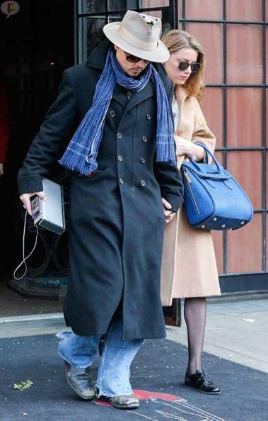 Johnny Depp confirma compromiso con Amber Heard
