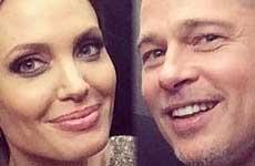 Angelina y Brad planean tatuaje raro para su boda?