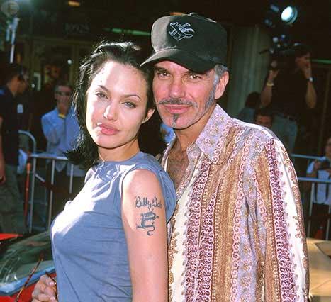Angelina Jolie y Billy Bob Thornton en contacto?