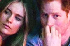 El Príncipe Harry y Cressida Bonas terminaron!