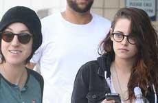 Kristen Stewart sale con una chica?