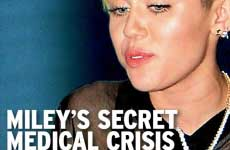 Miley Cyrus tuvo un ataque cardíaco [InTouch]
