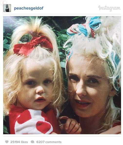 Socialite Britanica Peaches Geldof muerta a los 25