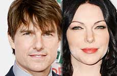 Tom Cruise y Laura Prepon saliendo secretamente?