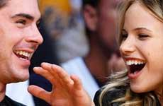 COUPLE ALERT!! Zac Efron y Halston Sage son pareja?