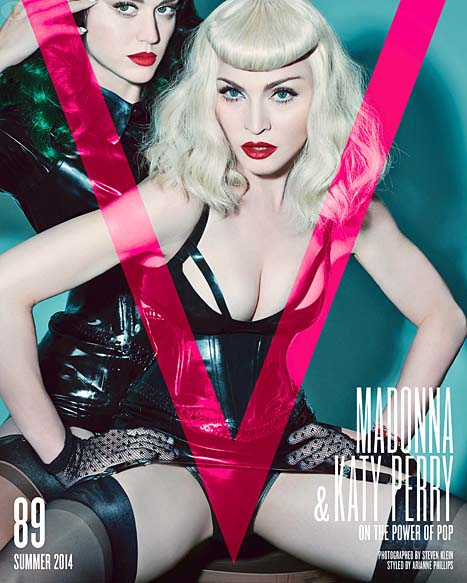 Madonna & Katy Perry: Power of Pop - [V magazine]
