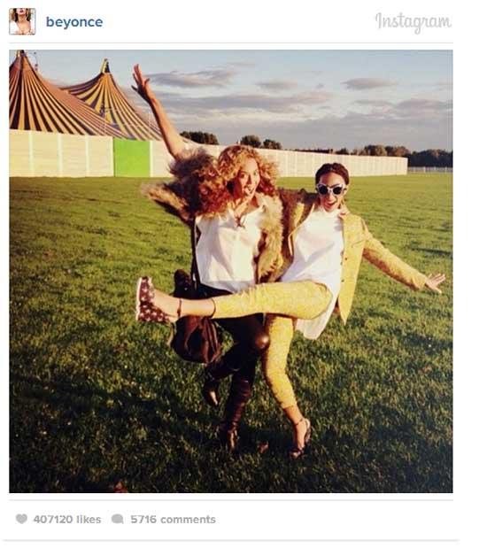 DAMAGE CONTROL! Beyonce y Solange en Instagram!