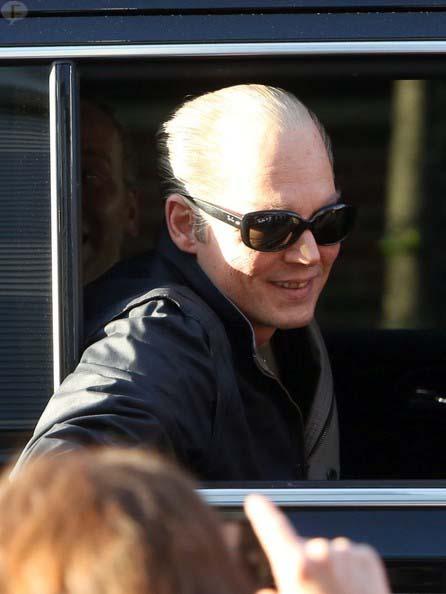 WTF?? Que pasó con Johnny Depp??