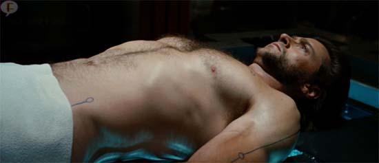 Hugh Jackman olvidó decir a su hija sobre escenas de desnudo en X-Men