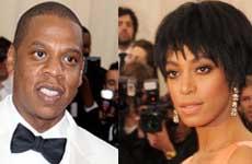 La hermana de Beyonce, Solange golpea a Jay Z
