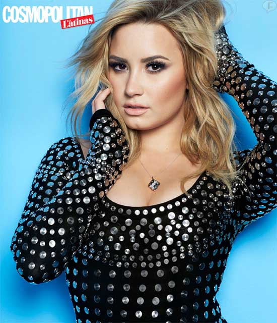 Demi Lovato en Cosmopolitan For Latinas