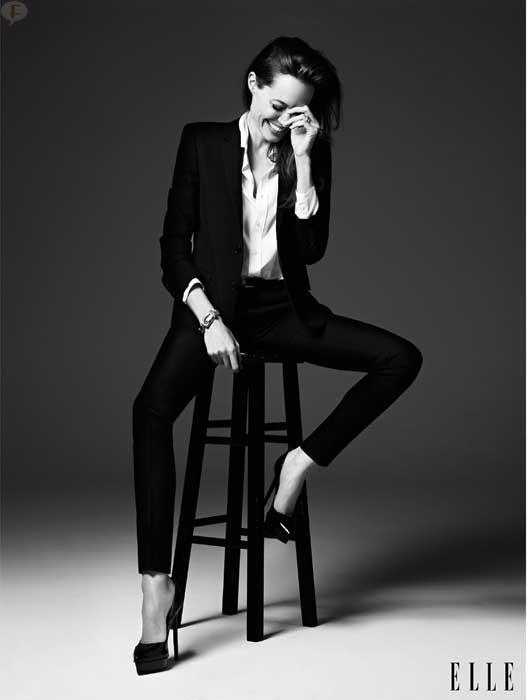 Angelina Jolie habla - Elle magazine