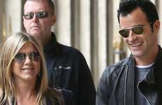 Justin Theroux quiere una boda sin alcohol