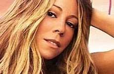 Mariah Carey en la portada de su single 'Thirsty'