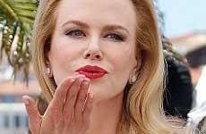 Nicole Kidman luce diferente en Cannes