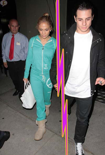 Jennifer Lopez y Casper Smart terminaron - WHY???