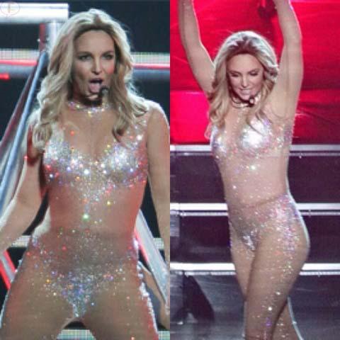 Britney Spears ha engordado en Las Vegas?