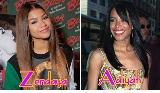 Zendaya Coleman será Aaliyah en una biopic de Lifetime