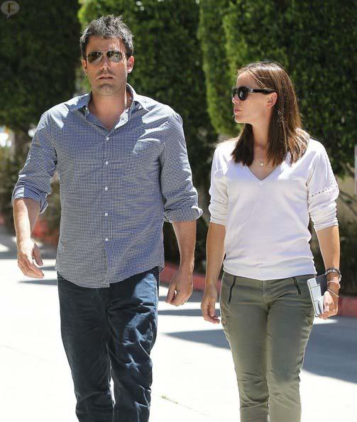 Jennifer Garner y Ben Affleck: problemas por apostar sin control