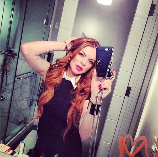 Lindsay Lohan se borra las pecas!! What?
