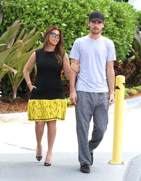 Kourtney Kardashian echa a Scott Disick de su casa en los Hamptons?