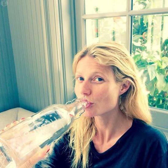Gwyneth Paltrow fascinada: La Negatividad afecta el agua