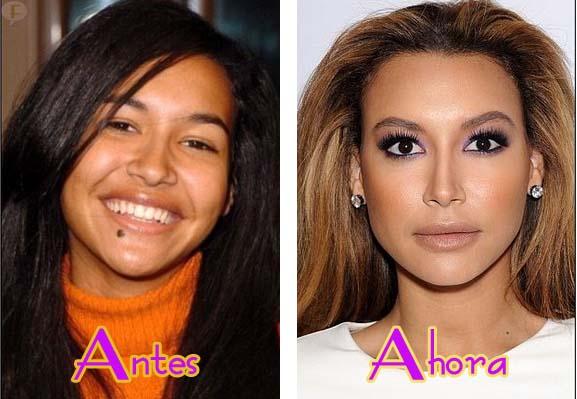 El ANTES de Naya Rivera (Glee) - FOTOS!