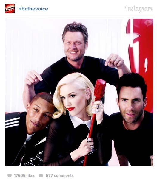 Primera Promo The Voice con Gwen Stefani - T7