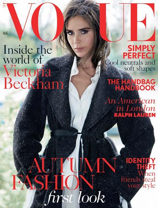 Victoria Beckham para Vogue - [Agosto 2014]