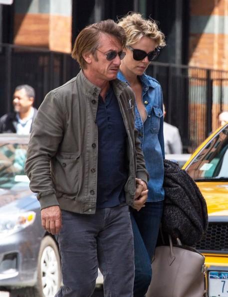 Sean Penn y Charlize Theron quieren casarse y adoptar