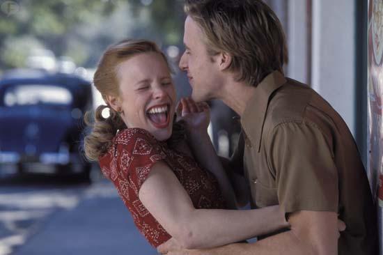 Ryan Gosling y Rachel McAdams no se llevaban bien en The Notebook