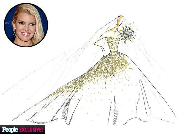 Jessica Simpson se casó con Eric Johnson!!!