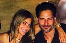 Sofia Vergara celebra su cumpleaños con Joe Manganiello