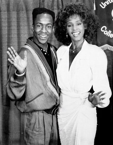 """Whitney Houston y Bobby Brown para la biopic """"Whitney"""""""