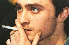 Daniel Radcliffe a rehab por fumar