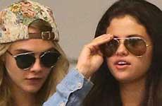 Justin Bieber celoso de la amistad de Selena con Cara Delevingne