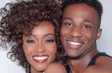 "Whitney Houston y Bobby Brown para la biopic ""Whitney"""