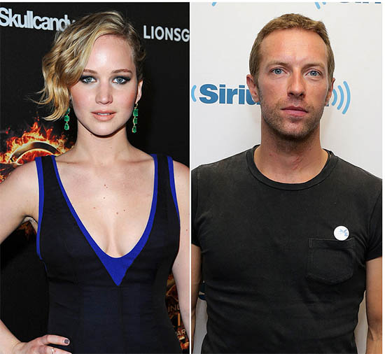 Jennifer Lawrence y Chris Martin saliendo? WHAT?