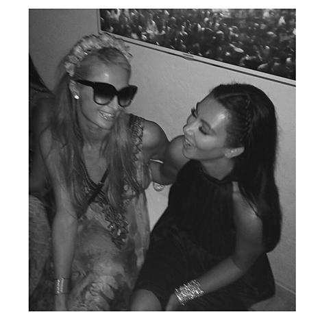 Kim Kardashian y Paris Hilton se reúnen