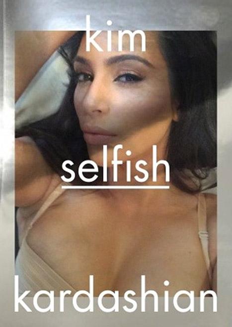 OF COURSE! Kim Kardashian lanzará un libro de SELFIES!
