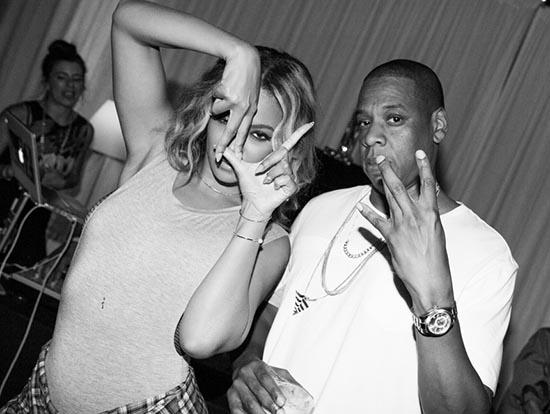 Beyonce y Jay Z se evitan en el Tour