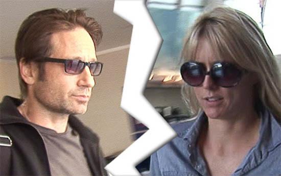 David Duchovny y Téa Leoni se divorciaron!
