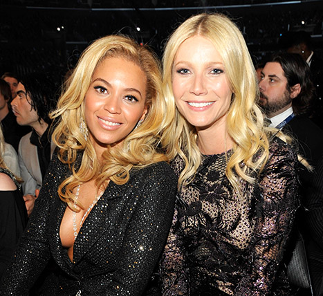 Beyonce pidió consejo a Gwyneth Paltrow para su divorcio