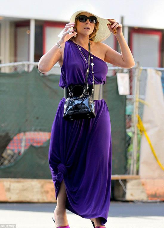 Mariah Carey reaparece tras su separación - Motivos?