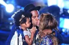 Beyonce trajo a toda su familia a los VMAs